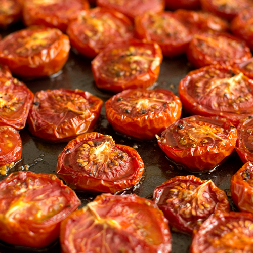 Slow-Roasted Tomatoes - Fork Knife Swoon