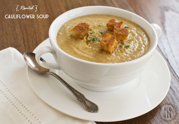 NorthWestKitchen: Roasted Cauliflower Soup